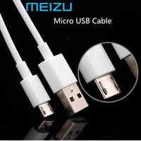 Meizu Micro USB Kabel 100CM Daten Linie Original Mei zu 2A Schnelle ladung Micro Kabel Für M5s M6s M5 m6 M3 M2 Hinweis MX5 MX4 U10 U20 E2