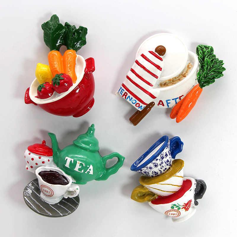 Bionic, aliments créatifs, bâton magnétique de réfrigérateur, décoration de réfrigérateur, banane, mangue, fraise, tasse de carotte