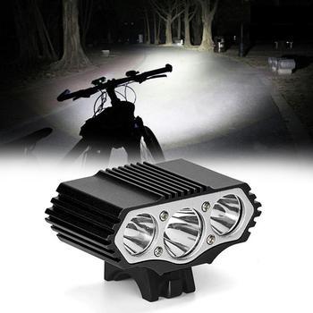 12000lm silne światło USB zasilany T6 LED 4 poziom światła rowerowe Ipx7 wodoodporny nadaje się do jazdy na rowerze Camping Bycicle światła tanie i dobre opinie NONE CN (pochodzenie) bicycle light Kierownica cycling bicycle charging light