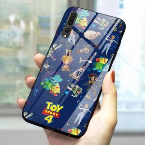 Toy Story 4 Tempered Glass Phone Case for Huawei P30 Cover Mate 20 Lite Honor 9 10 Lite 7A P10 P20 P30 PRO P Smart(China)