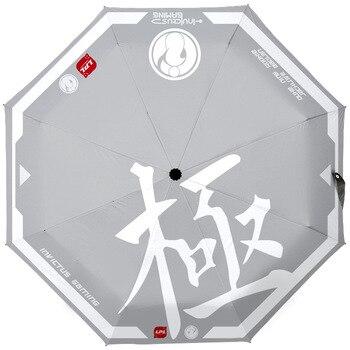 Anime-nuevo Paraguas de Anime para mujer, sombrilla Plegable, Paraguas, Guarda Chuva