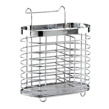 Stainless Steel Chopsticks Drainer Cage Cutlery Spoon Storage Box Rack Kitchen Organizer Racks & Holders|Racks & Holders| |  -