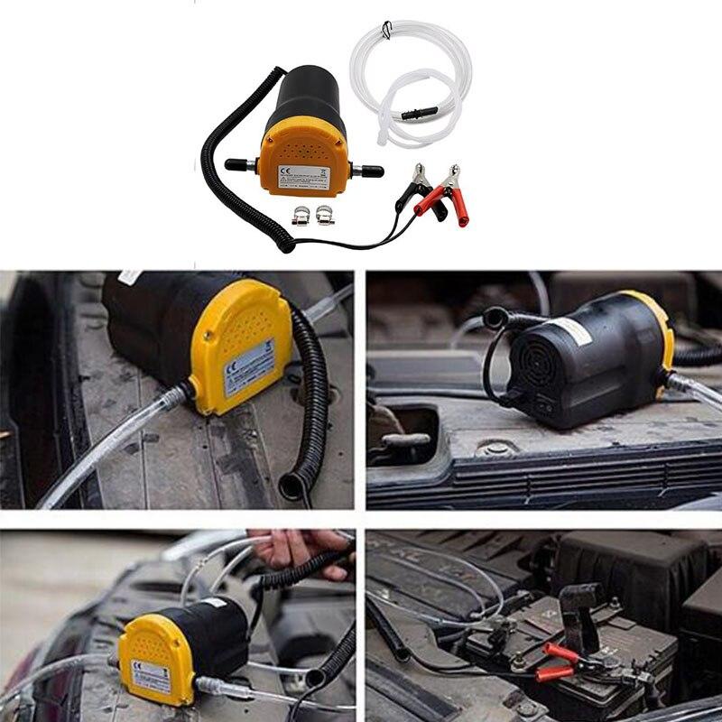 12V 60W Universal Car Suction Pump / Crude Oil Liquid Pumping Unit Clear AC Pump Suction Pump