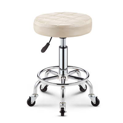 Stool Hair Salon Dedicated Barber Shop Not Wrapped Hair Cut Stool Master Chair Beauty Stool Lift Sliding Wheelchair