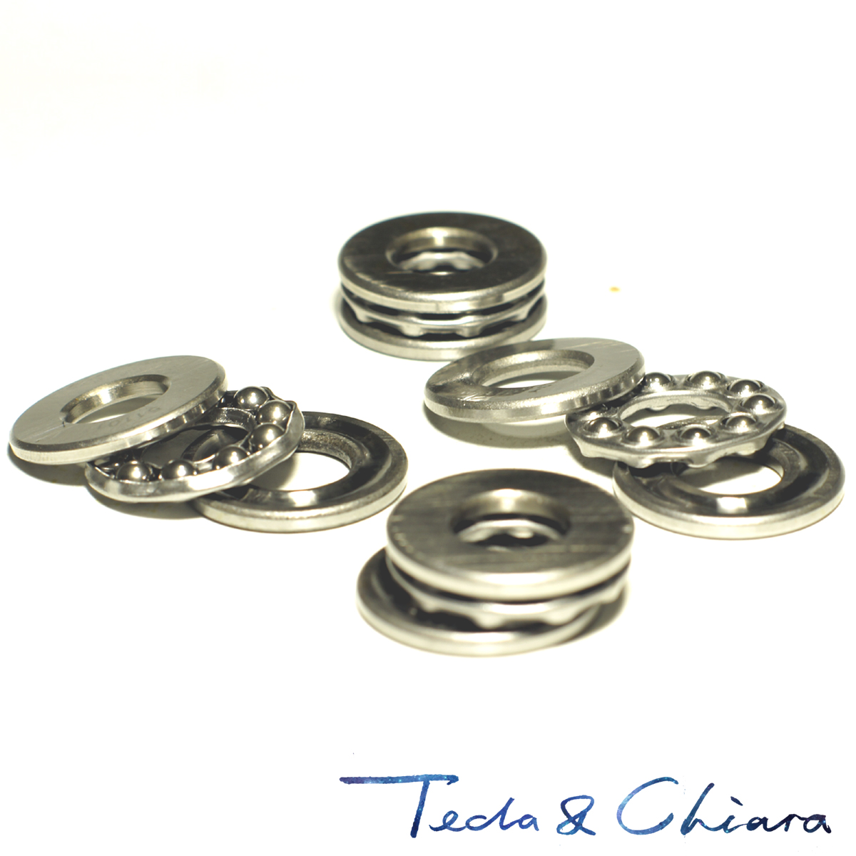 1Pc / 1Piece 51101 12 x 26 x 9 mm Axial Ball Thrust Bearing 3-Parts * 3-in-1 Plane High Quality