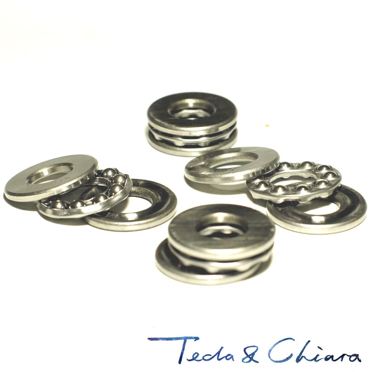 10Pcs 51101 Axial Ball Thrust Bearing 3-Parts 12mm x 26mm x 9mm