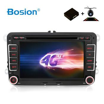 Bosion Android 2G+16G Car DVD GPS Navigation Wifi+Bluetooth+Radio Autoradio 2 Din For Volkswagen GOLF 4 5 6 POLO PASSAT TIGUAN image