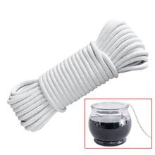 Planter Rope Hanging Macrame Plant Hanger Hook for Garden Home Flower Pot Self Watering Cotton 4mm*10M