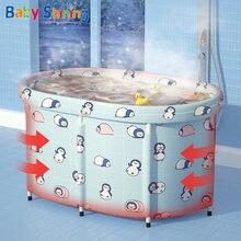Детское сияющее детское ванное Водонепроницаемый мешок для купания