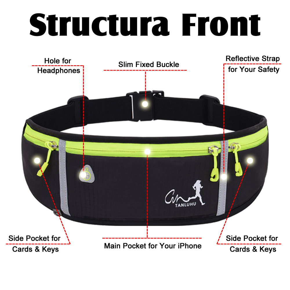 Hf1de0b7e06104eea9c06bae35f099da8a - Women's Running Waist Packs | Running Accessory