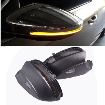 Dynamic Mirror Indicator Blinker Side LED Turn Signal Light Sequential for VW Scirocco MK3 Passat B7 CC EOS Beetle