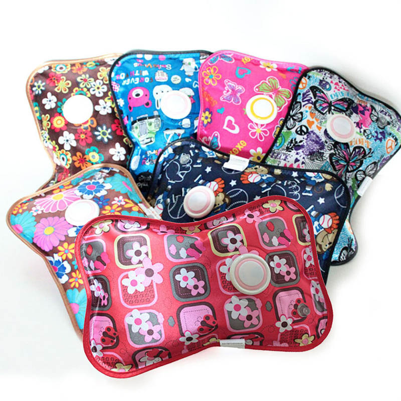 Hot Rechargeable Electric Hot Water Bottle Hand Warmer Heater Bag For Winter PLD