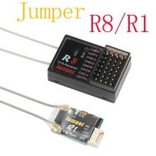 Jumper récepteur R8 R1 16CH Sbus, Radio à distance uniquement pour T16 Pro Plus pour Frsky D16 D8 Mode R8 uniquement pour PIX PX4 contrôleur de vol