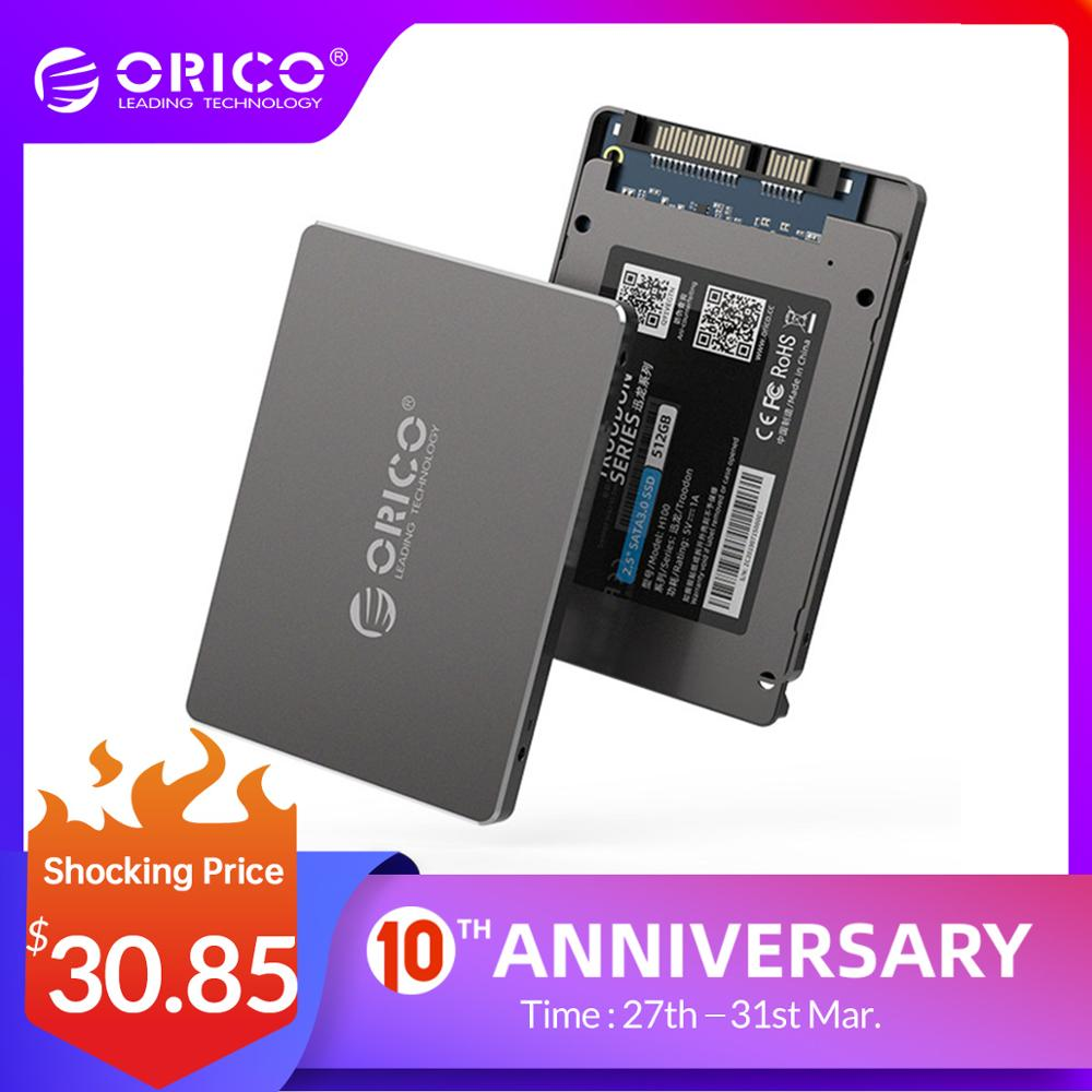 ORICO 2.5 Inch SATA SSD 128GB 256GB 512GB 1TB SSD 1TB Internal Solid State Disk 2.5 SSD SATA For Desktop Laptop