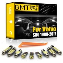 BMTxms-Kit de luz LED para el Interior del vehículo, lámpara Canbus para Volvo S80 184 124 sedán 1999-2017, accesorios para el maletero