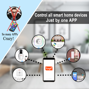 Image 2 - Tuya Camera WIFI IP Wireless Smart Life Compatible Google Home Assistant Alexa 1080P PTZ For House Security Surveillance Indoor