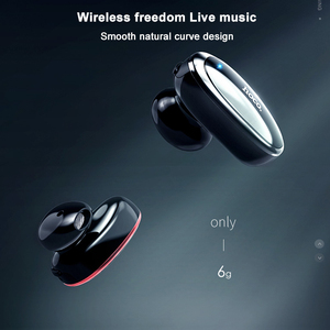 Image 3 - HOCO Invisible אפרכסת מוסיקה אוזניות Bluetooth ב אוזן דיבורית מיני אלחוטי אוזניות עם מיקרופון עבור Xiaomi 10 iPhone X