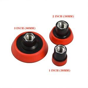 Image 3 - Ensemble de 29 pièces, 1/2/3 pouce pour perceuse, tampon de polissage, Kit de mélange de tailles + adaptateur de coussin de support M14, outils électriques, tampons de polissage