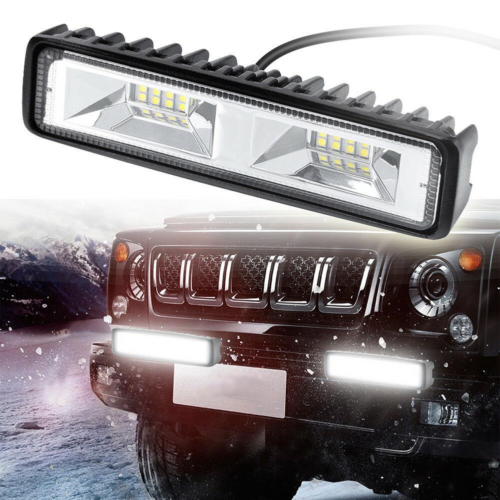 48W LED Mobil Lampu DC 12-24V Off-Road LED Engineering Work Lampu Sorot mobil Motor Truk Perahu