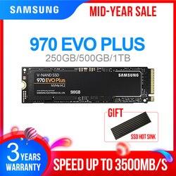 M2 SSD SAMSUNG M.2 SSD M2 1 TB 500G 250G HD NVMe Hard Disk SSD HDD Hard Disk 1 TB 970 EVO Più PCIe A Stato Solido per il Computer Portatile