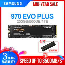 M2 SSD SAMSUNG M.2 SSD M2 1 TB 500G 250G HD NVMe SSD Harde Schijf HDD Harde Schijf 1 TB 970 EVO Plus Solid State PCIe voor Laptop