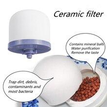 Керамический фильтр для воды Намагниченный минеральный очиститель воды фильтр для воды керамический полушарный фильтр для воды для домашнего хозяйства