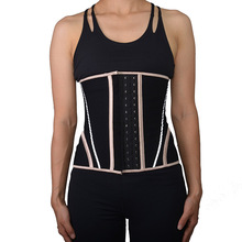 Waiste trainer body shaper corset long model for exercise waist sealing, postpartum abdominal belt
