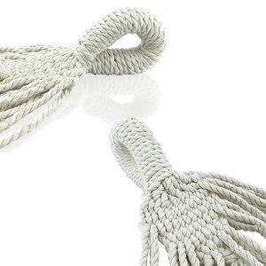 Image 4 - พู่เปลญวนไนลอนสีขาวผ้าใบHammock