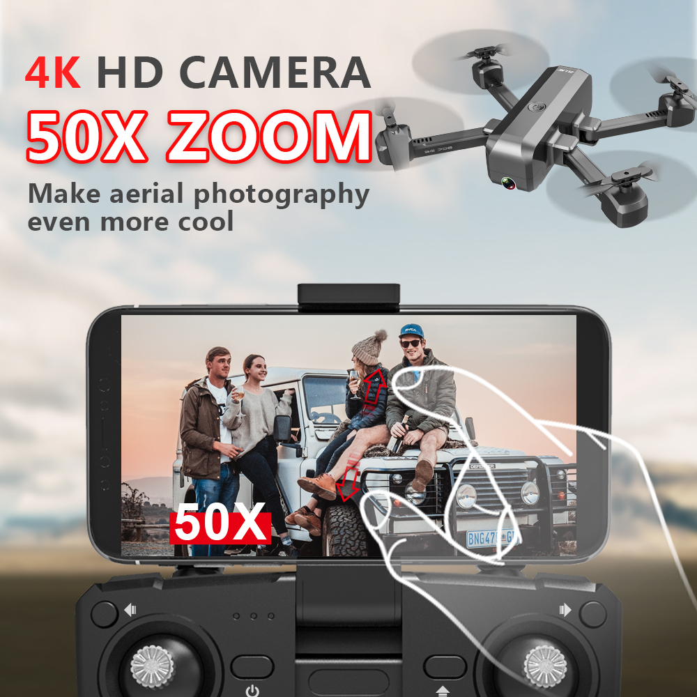 SG706 Drone with 4K HD Dual Camera 5G WiFi FPV Drone RTF RC Quadcopter Helicopter Professional Quadrocopter