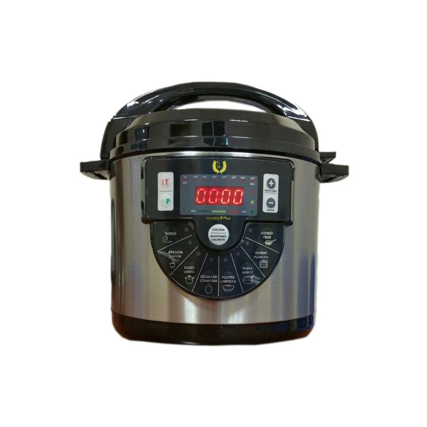 Ev Aletleri'ten Elektrikli Basınçlı Ocaklar'de Mutfak robotu Pot programlanabilir F artı büyük Finn toptan bir basınç programlanabilir elektrikli paspas kova anti yapıştırma 6L title=