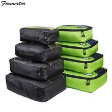 Возраст: 3, 4, 6, 8, шт./компл. куб для упаковки дорожные сумки Портативный большой Ёмкость Костюмы сортировочный Органайзер Чемодан аксессуары сумка органайзер