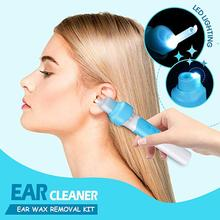 1Pcs Ear Cleaner Easy Earwax Removal Soft Spiral Cleaner Ears Prevent Ear-pick Clean Swab Painless Safety Ear Wax Removal Tool