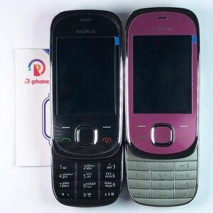 Image 3 - ตกแต่งใหม่ Nokia 7230 2G GSM ปลดล็อกโทรศัพท์มือถือและภาษาอังกฤษรัสเซียฮีบรูแป้นพิมพ์ภาษาอาหรับ