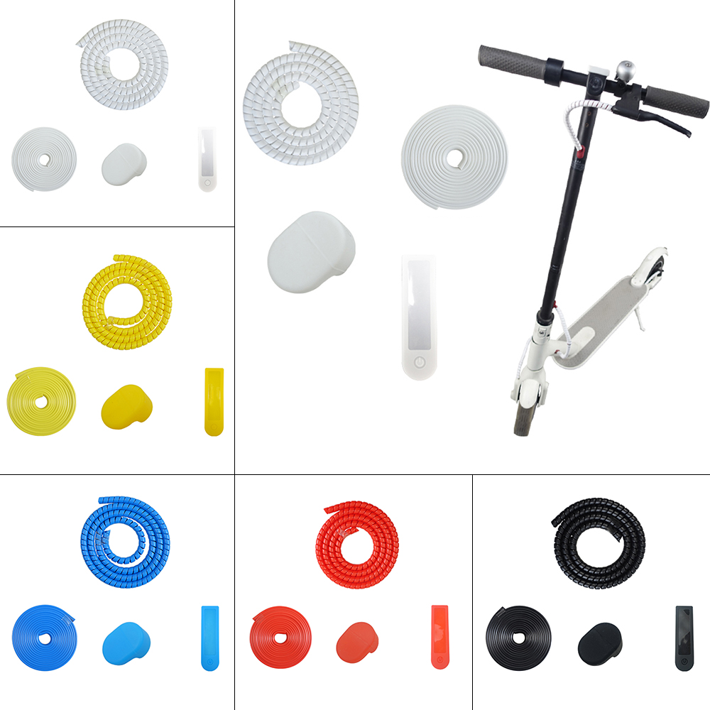 Dashboard Protector Silicone Cover Kit For Xiaomi M365/PRO Electric Scooter Yellow/Red/Black/White/Blue Anti-collision