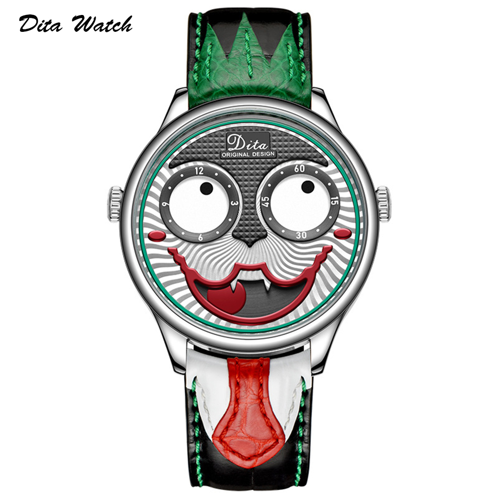 Joker Watch Men Top Brand Luxury Fashion Personality Alloy Quartz Watches Mens Limited Edition Designer Watch New Arrival 2019
