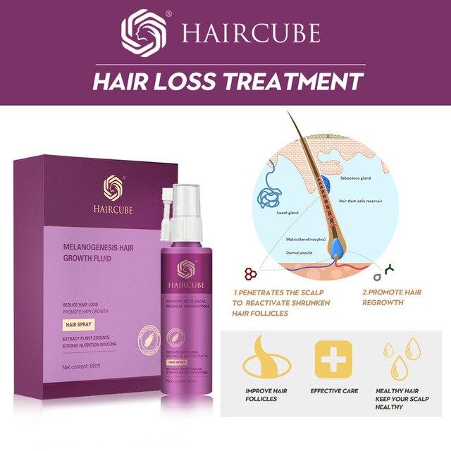 Hair Growth Treatment Spray Anti Hair Loss Essence Serum for Fast Thick Hair Tonic Eyebrows Natural Healthy Hair Loss Treatment 3