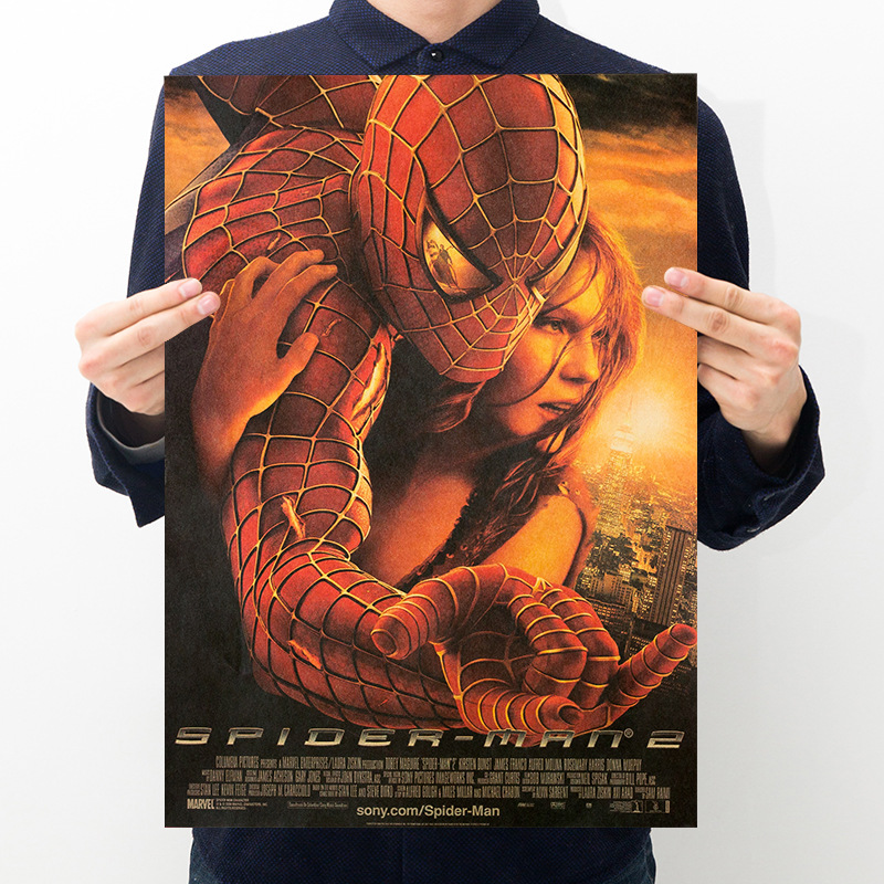 Spiderman Kraft Movie Poster Room Bedroom Decoration Painting Art Wall Sticker Picture Home Supplies image
