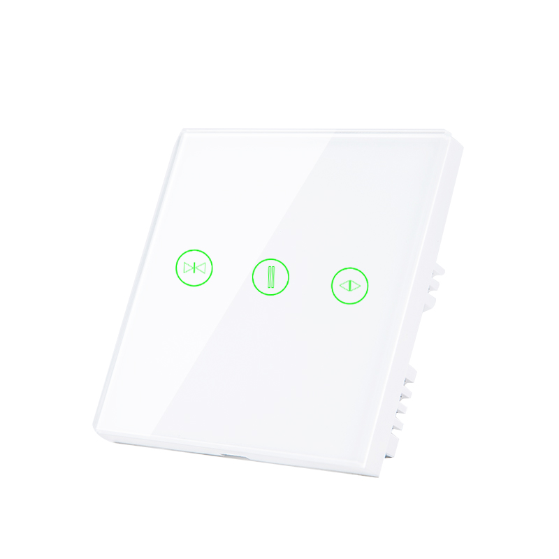 Image 2 - EU UK curtain switch wifi wall switches Smart Roller Blinds Switch for Curtain motor home smart systemAutomatic Curtain Control System   -