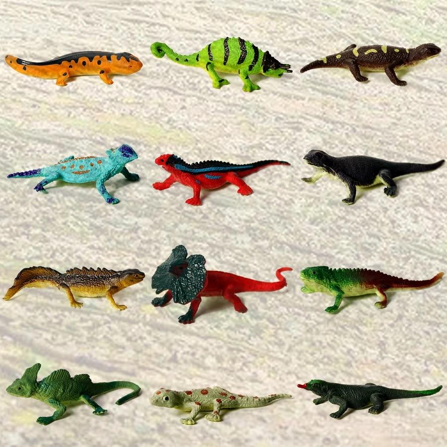 Simulation Wildlife Lizard Animals Model Figure Figurine Figure Nature Toys