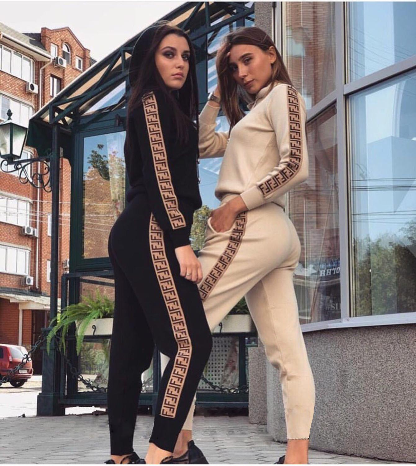 Ensemble Femme Sexy Casual Set Fashion Autum Female Casual Outfits Women Tracksuit Two Piece Set Sweatsuit Woman Sets Tracksuits