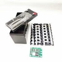 Reemplazo de ácido de plomo para estuche de batería de litio 12V7Ah 8Ah10Ah12Ah, pulverizador eléctrico BMS 10A, Plástico Especial, soporte de caja de almacenamiento 18650