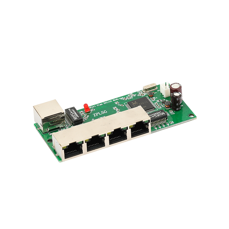 Mini 3/4/5 Port Full Gigabit Switch Module Industrial Grade