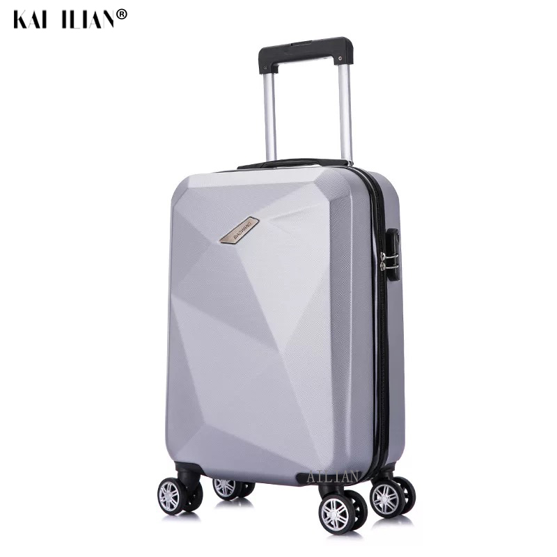 HOT 20/24 Inch Rolling Luggage Sipnner Wheels ABS Women Travel Suitcase Men Fashion Cabin Carry-on Trolley Box Hardside Luggage