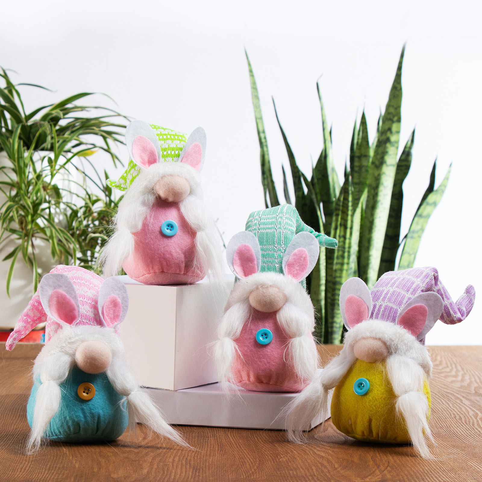 Adornos de elfos Para el día de Pascua, nuevas decoraciones Para dormitorio, sala de estar, decoración de escritorio, poste de pie, Muñecas Para Niñas