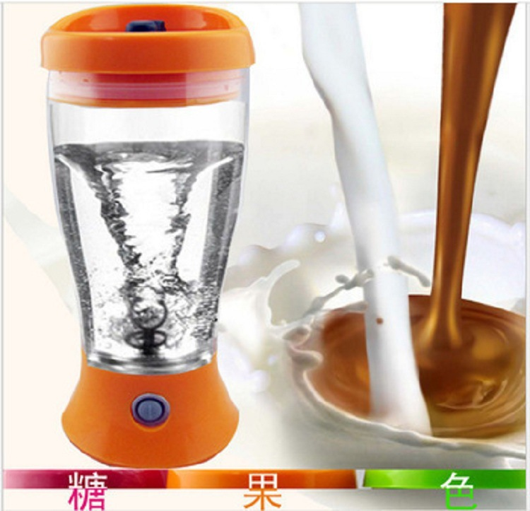 Milk Shake Electric Mixing Cup Electric Protein Shaker Blender Brewing Powder Water Bottle Automatic Movement Cup Mixing Cup image