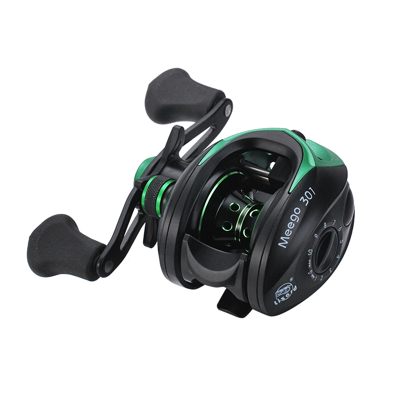 Baitcasting Coil Dual Brake System Reel 8KG Max Drag <font><b>19</b></font>+<font><b>1</b></font> <font><b>BB</b></font> 9.<font><b>1</b></font>:<font><b>1</b></font> High Speed Fishing Wheel Raft Reels Trolling <font><b>Carretilha</b></font> Pesca image