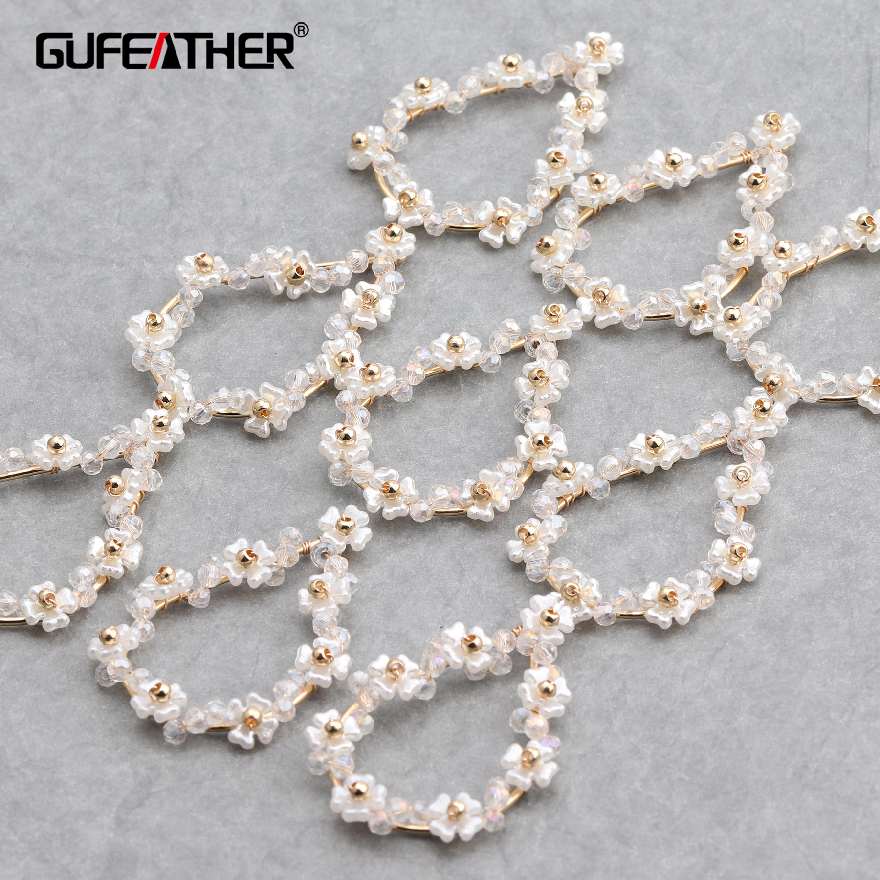 GUFEATHER M655,jewelry Accessories,diy Pendants,hand Made,copper Metal,charms,jewelry Making,diy Earrings,6pcs/lot