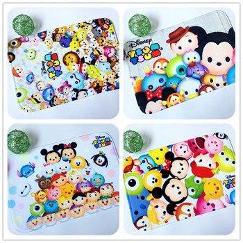 Disney Cartoon Mat Mickey Minnie Kinderen Tapijt Super Zachte Spons Absorberende Pad Mat Badkamer Keuken Slaapkamer Woonkamer