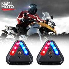 2pcs Flashing Warning Light Wireless Motorcycle Turn Signal Light For Honda For Kawasaki Z750 Z800 For YAMAHA MT07 MT09 MT10