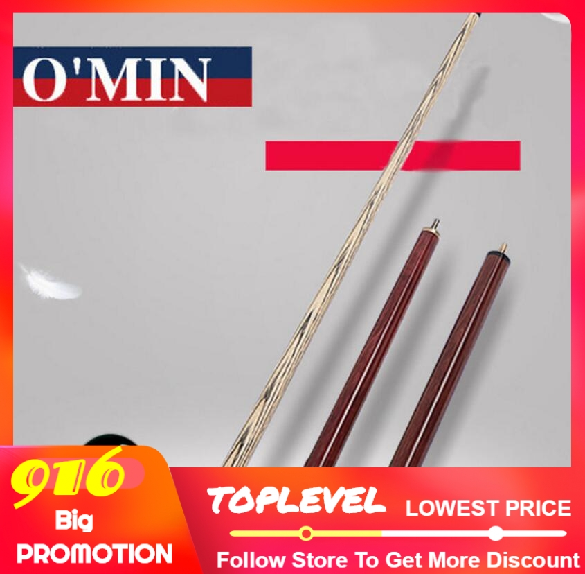 New Arrival O'min Punch & Jump Cue Billiard Stick Kit Jump Cue Ash Wood Shaft Maple Durable Professional 140cm Length China 2019-in Snooker & Billiard Cues from Sports & Entertainment    1
